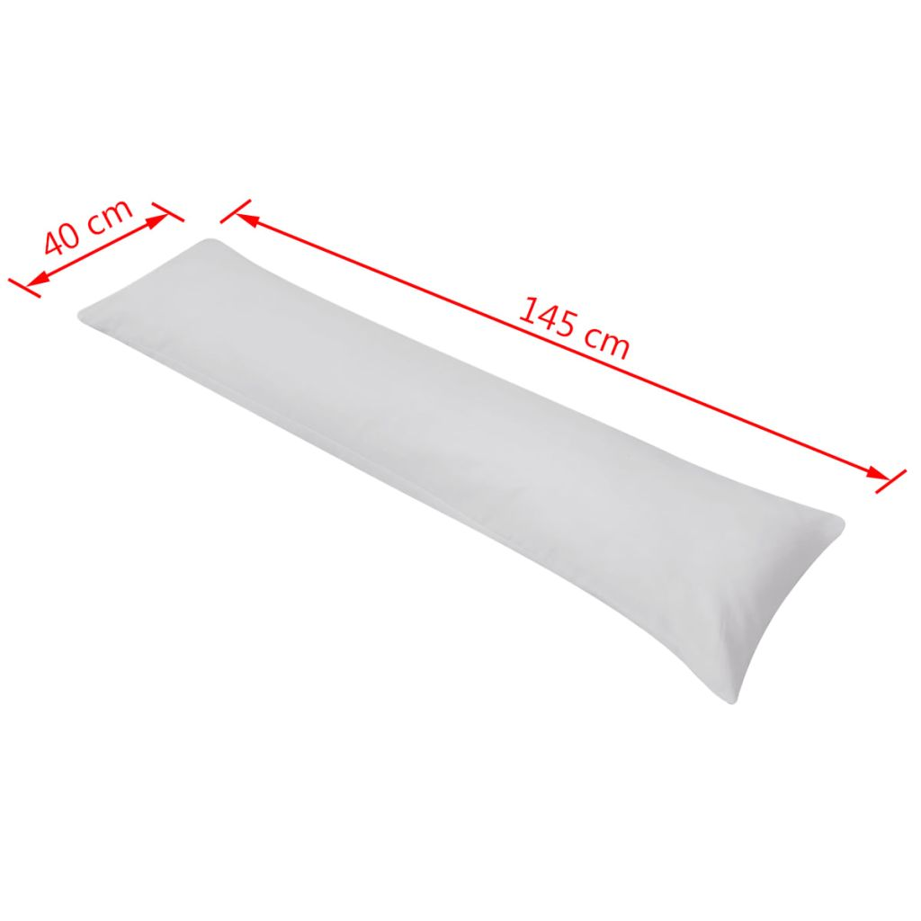 vidaXL Pernă laterală de corp pentru dormit, 40 x 145 cm, gri