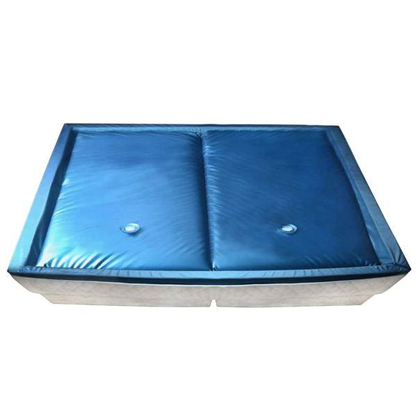 vidaXL Set saltea pat cu apă cu căptușeală și separator 200×220 cm F5