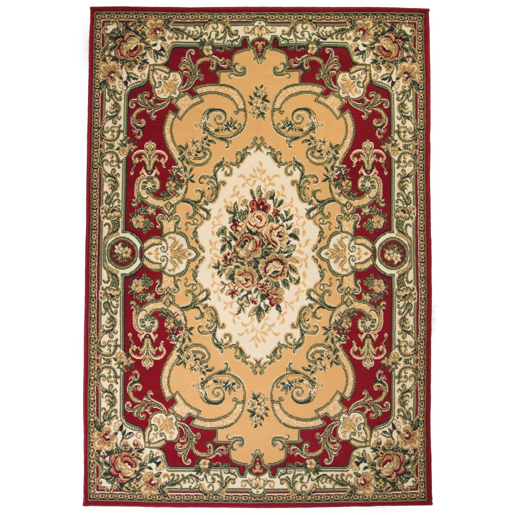 vidaXL Covor oriental, roșu/bej, 160 x 230 cm