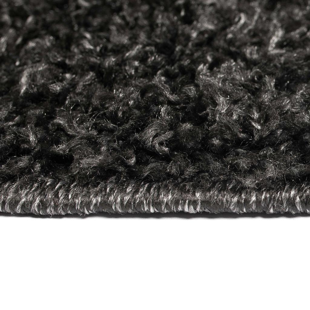 Covor cu fir lung, 140 x 200 cm, antracit