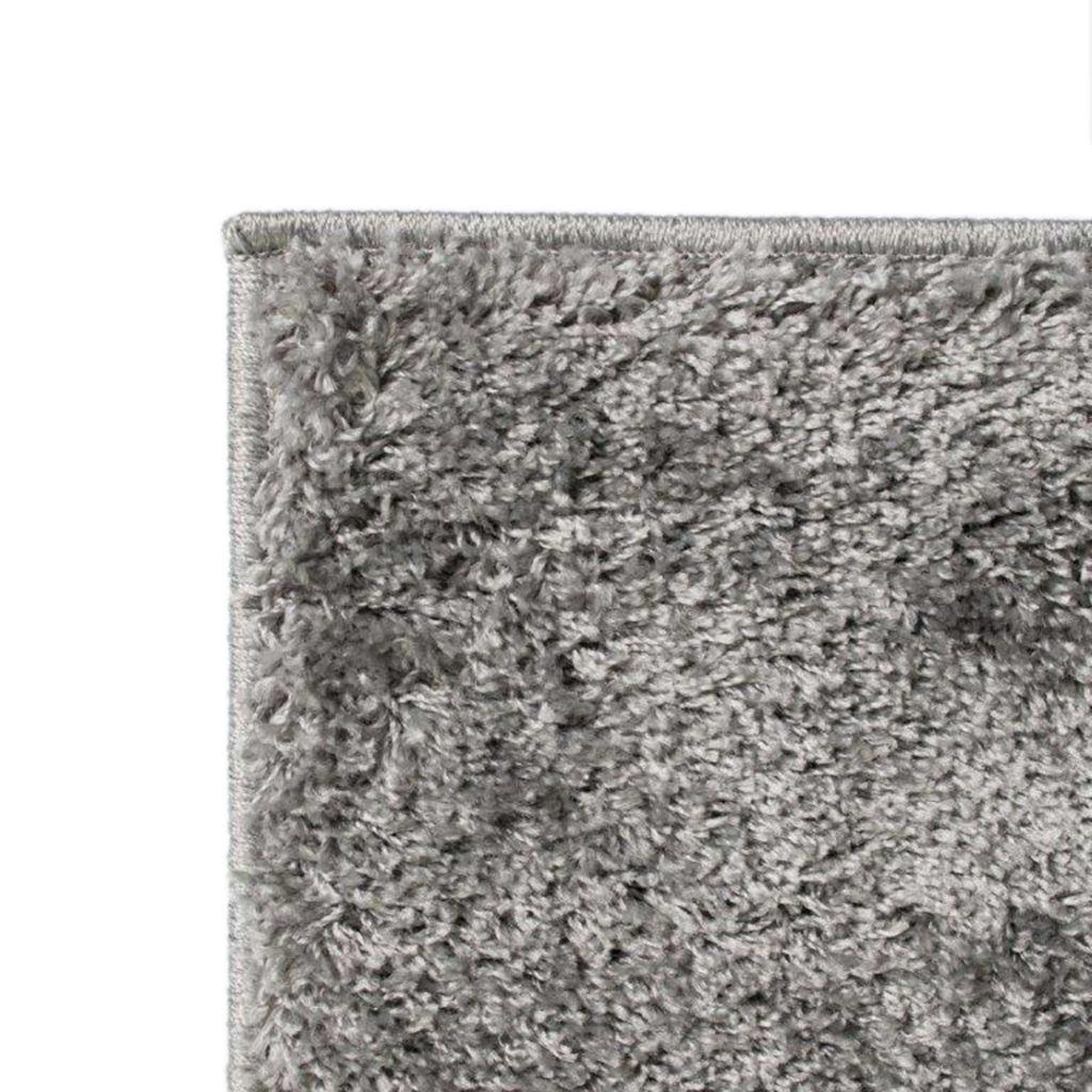 vidaXL Covor cu fir lung 120×170 cm Gri