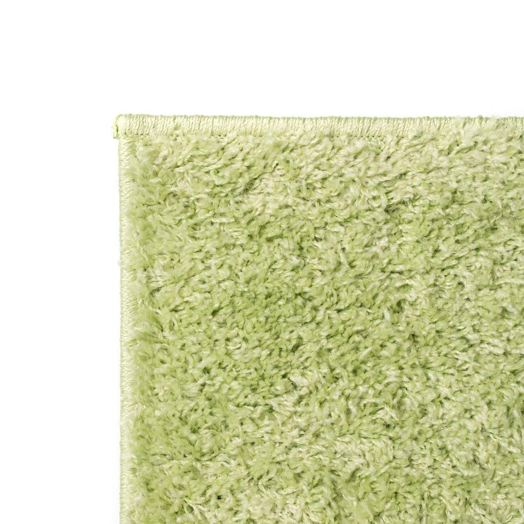 vidaXL Covor cu fir lung 120×170 cm Verde