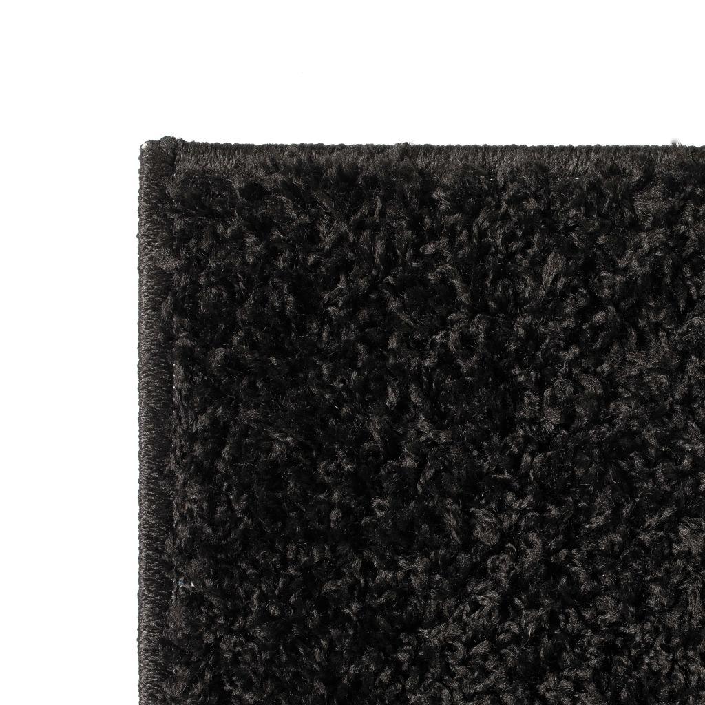 Covor lățos 160×230 cm Negru