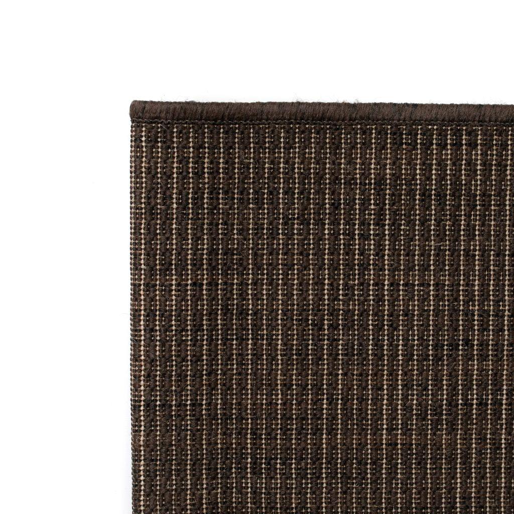 Covor aspect sisal de interior/exterior, 120 x 170 cm, maro