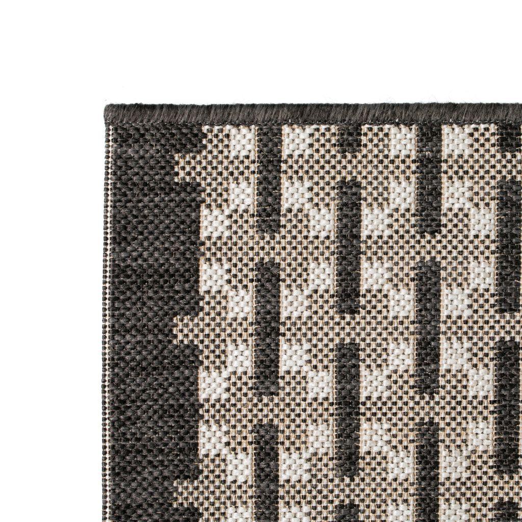 vidaXL Covor aspect sisal de interior/exterior, 120 x 170 cm, pătrate