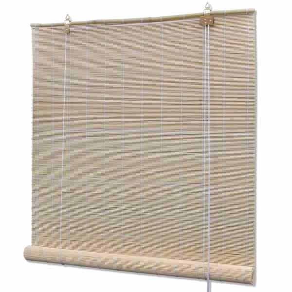 vidaXL Jaluzea Bambus, 80 x 220 cm, Natural
