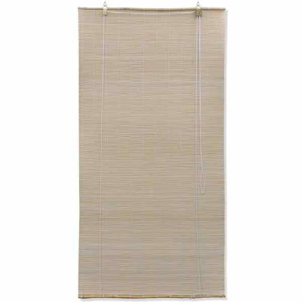 vidaXL Jaluzea Bambus, 100 x 220 cm, Natural