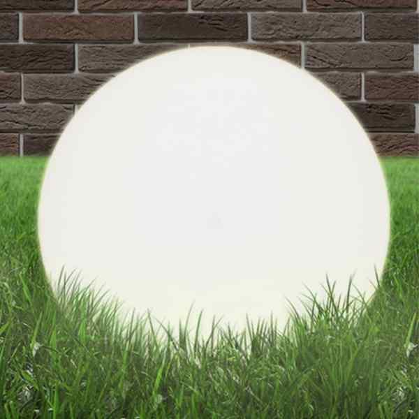 vidaXL Lampă bol cu LED, sferică, 50 cm, PMMA