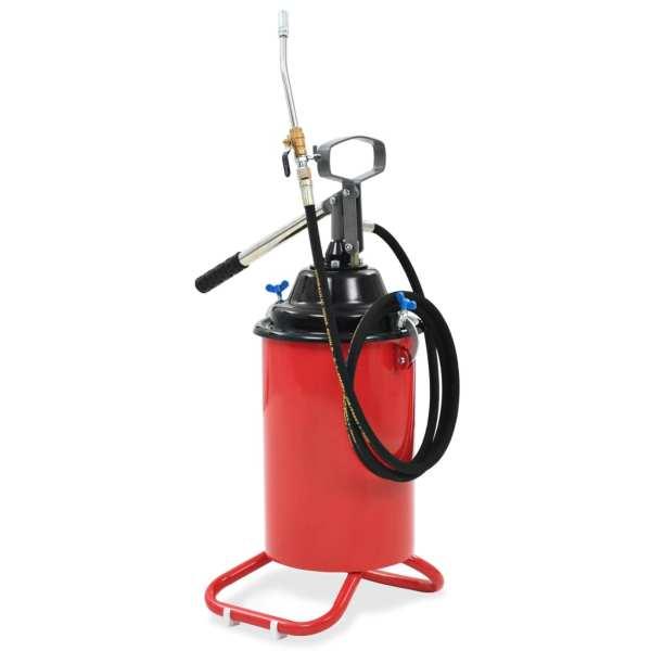 vidaXL Pompă de gresare acționată manual, 25 L
