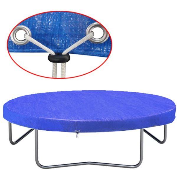 vidaXL Husă de trambulină, 360-367 cm, PE, 90 g/m²