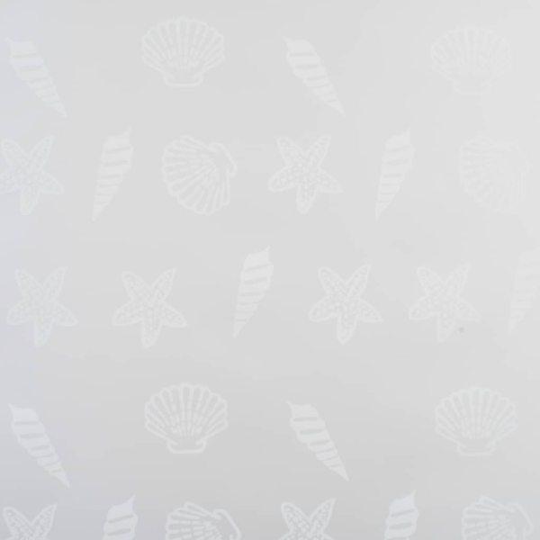 vidaXL Roletă perdea de duș 120×240 cm Model stea de mare
