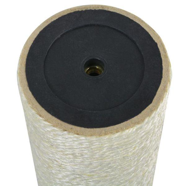 vidaXL Ansamblu de joacă pentru pisici 8×20 cm, 8 mm Bej