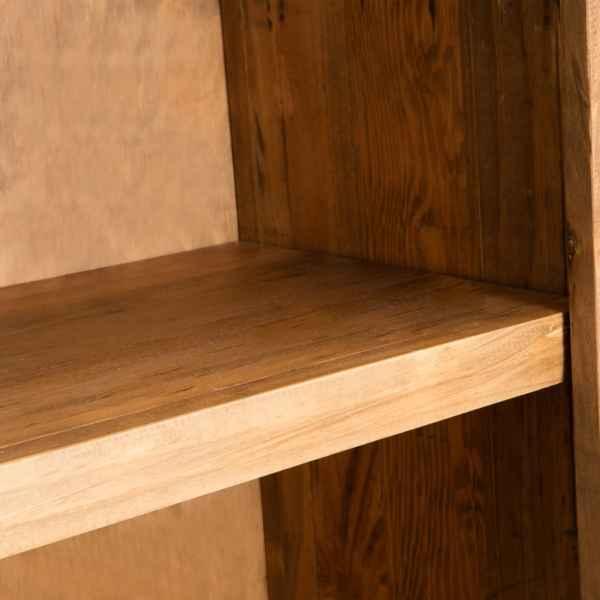 Dulap suspendat baie, lemn masiv de pin reciclat, 42x23x70 cm
