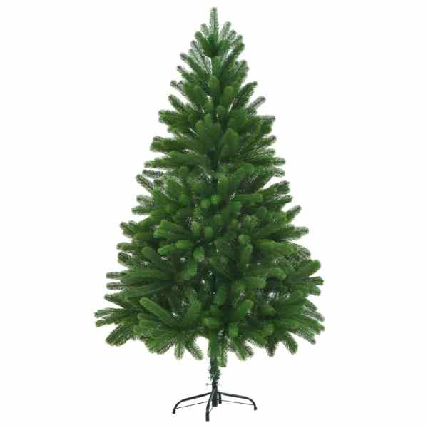 vidaXL Brad de Crăciun artificial, ace cu aspect natural, 210 cm verde