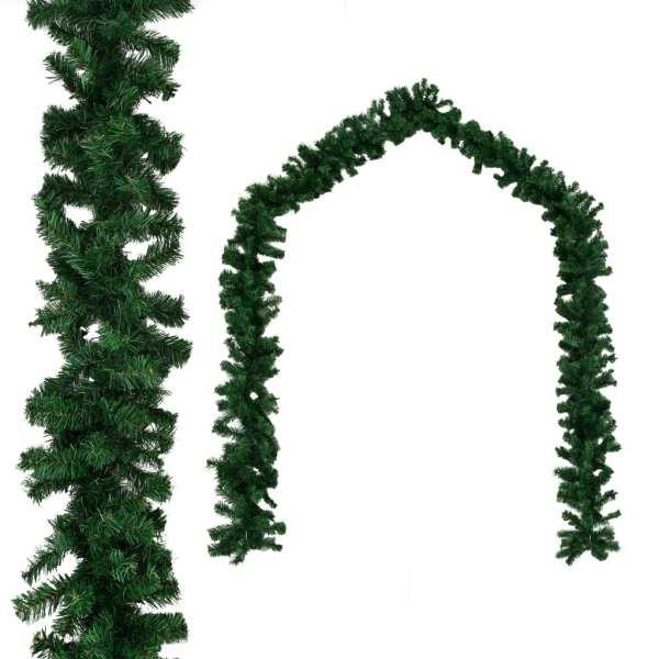 vidaXL Ghirlandă de Crăciun, PVC, 20 m