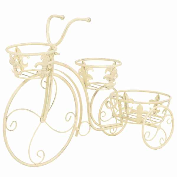 vidaXL Suport de plante model bicicletă, stil vintage, metal