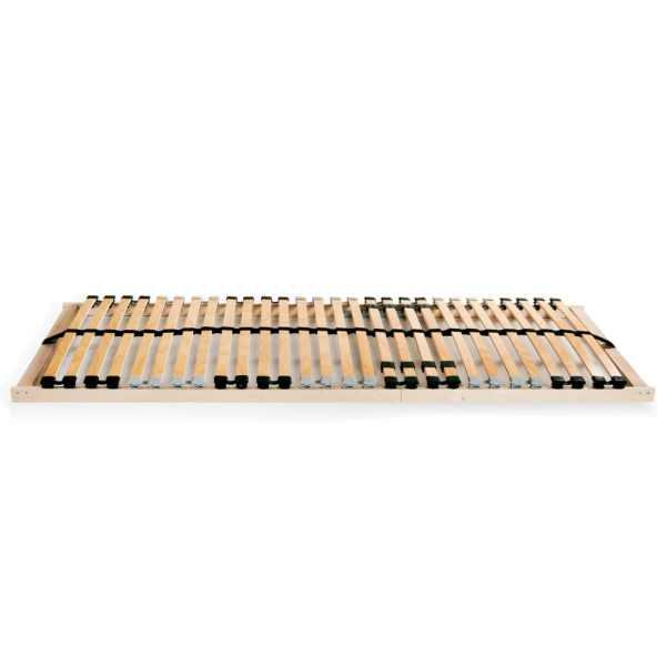 vidaXL Bază de pat cu șipci, 28 șipci, 7 zone, 70 x 200 cm