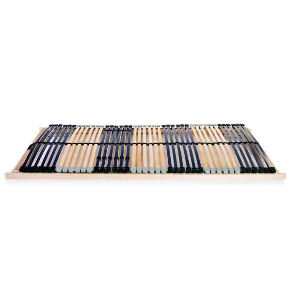 Bază de pat cu șipci, 42 șipci, 7 zone, 70 x 200 cm