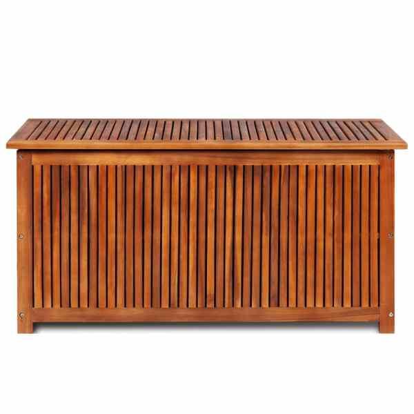 Ladă de depozitare grădină, 117x50x58 cm, lemn masiv de acacia