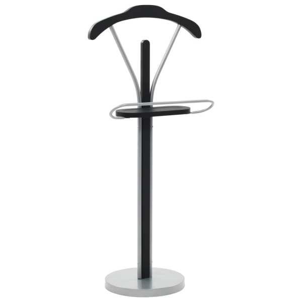 vidaXL Cuier pentru costum, negru și gri, 45 x 35 x 107 cm
