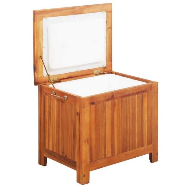 vidaXL Cutie de gheață, 63 x 44 x 50 cm, lemn masiv de acacia