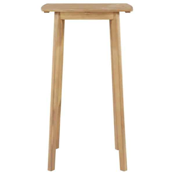 vidaXL Masă de bar, 60 x 60 x 105 cm, lemn masiv de acacia
