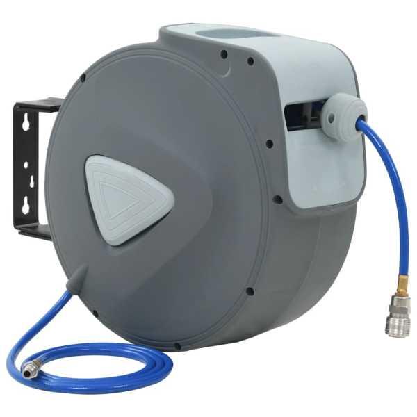 vidaXL Rolă automată cu furtun de aer 1/4″, 30 m