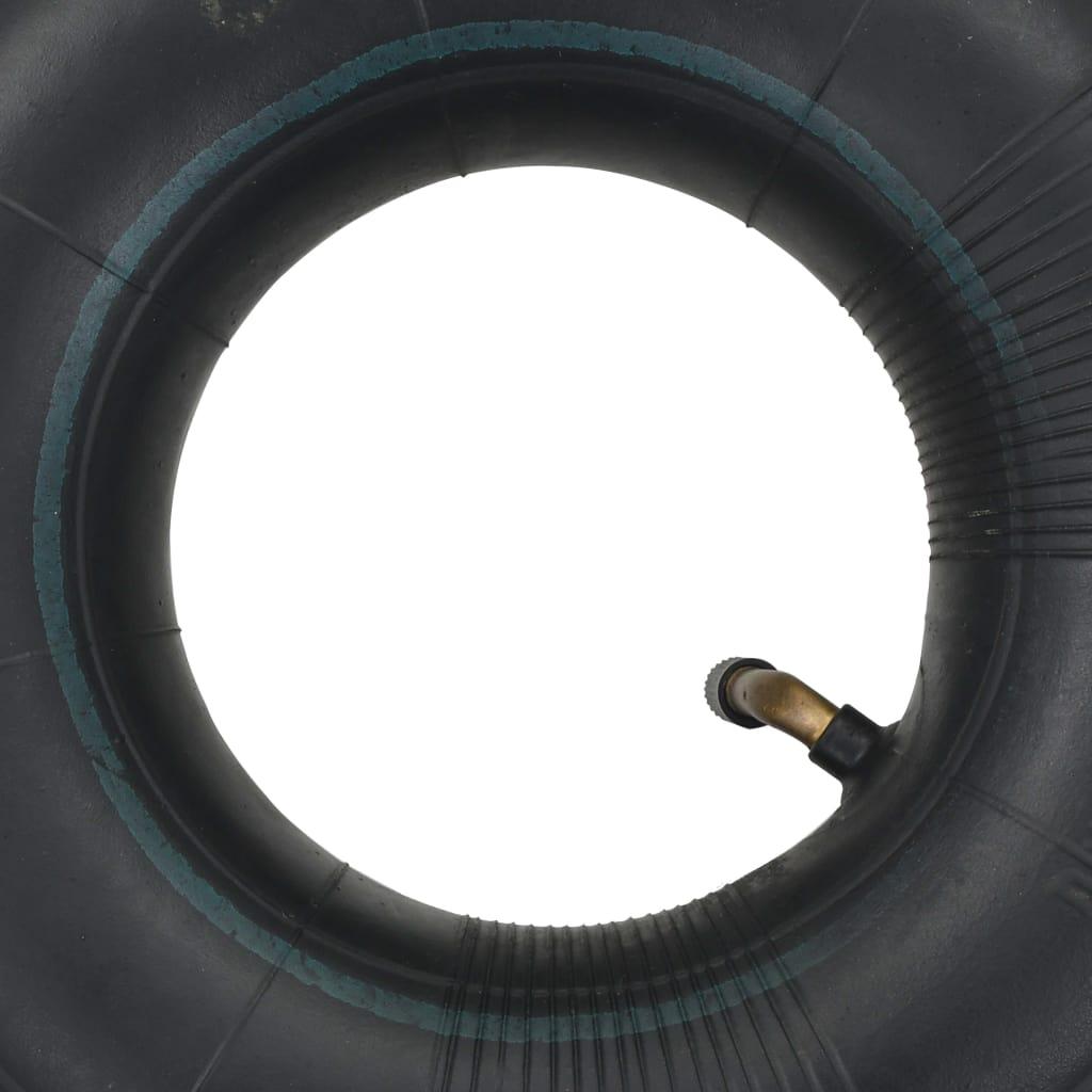 vidaXL Tuburi interioare roți cărucioare 4 buc, 3.00-4 260×85 cauciuc