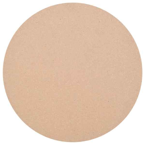 vidaXL Blat de masă din MDF, rotund, 700 x 18 mm