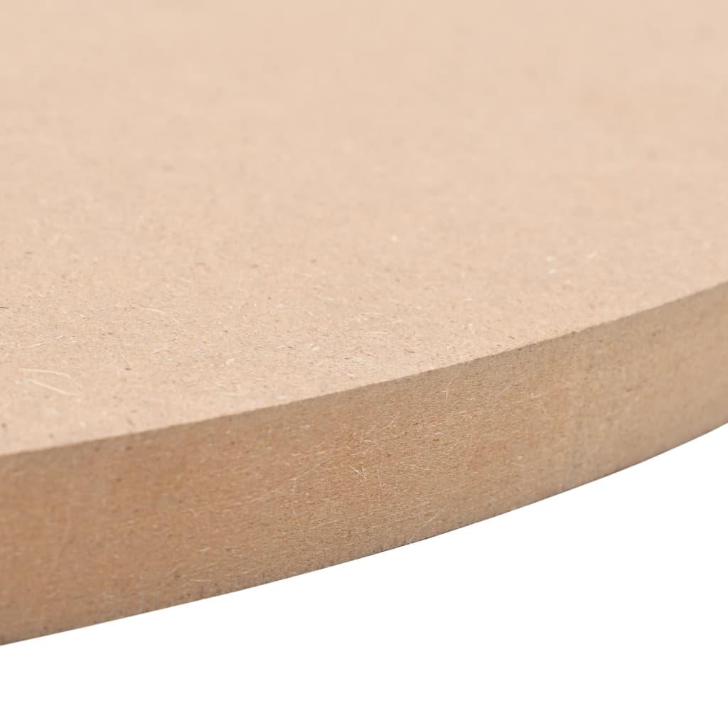 Blat de masă din MDF, rotund, 700 x 18 mm