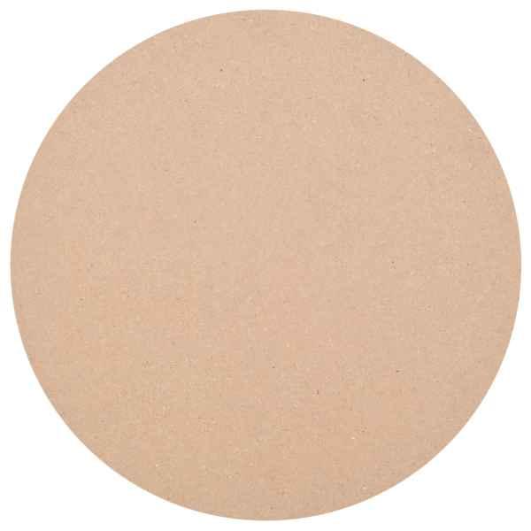 vidaXL Blat de masă rotund, MDF, 900 x 18 mm
