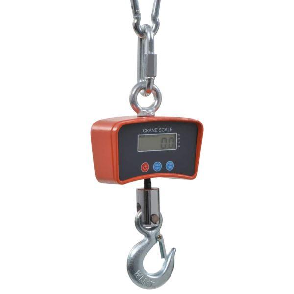 vidaXL Cântare macara electronice, 1000 kg