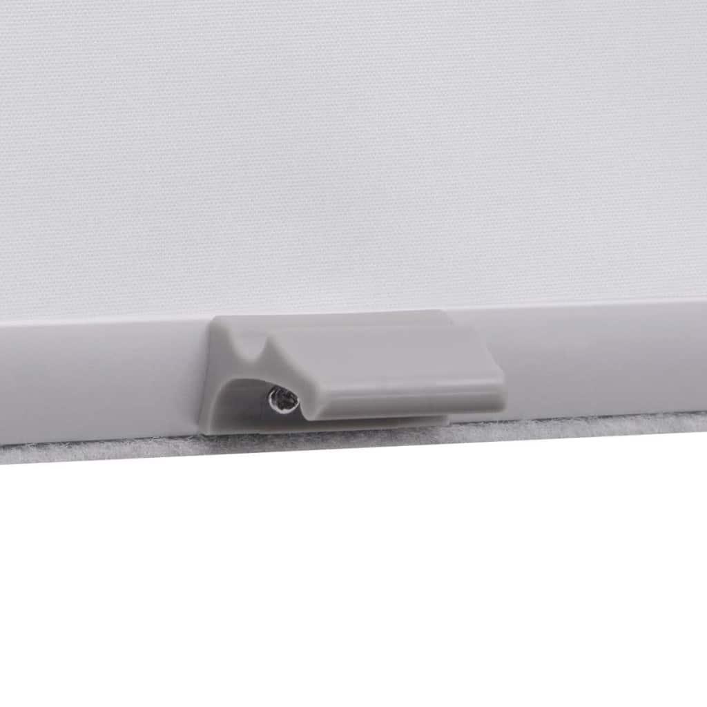 Jaluzea opacă tip rulou, alb, PK06