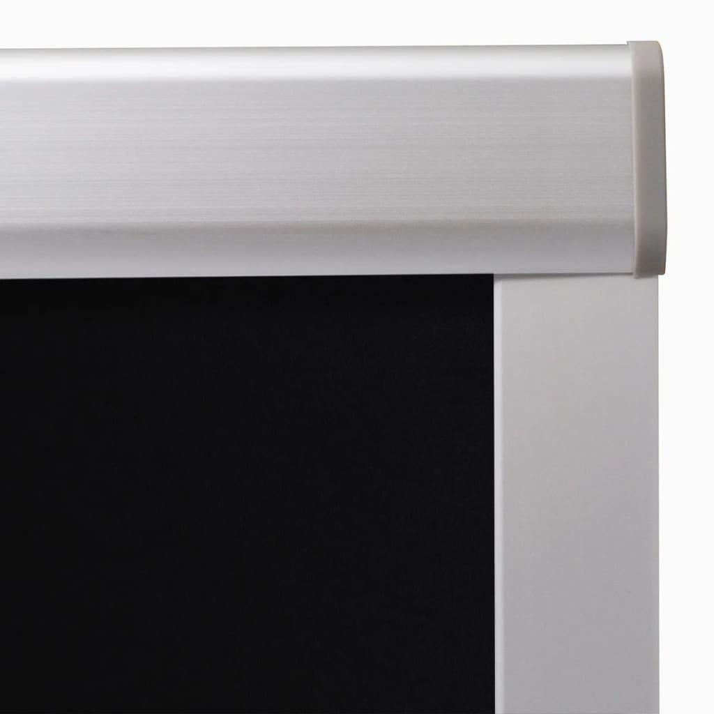 Jaluzea opacă tip rulou, negru, CK02