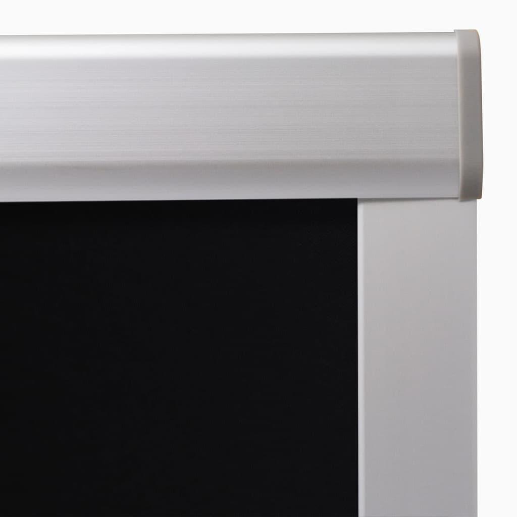 Jaluzea opacă tip rulou, negru, UK08