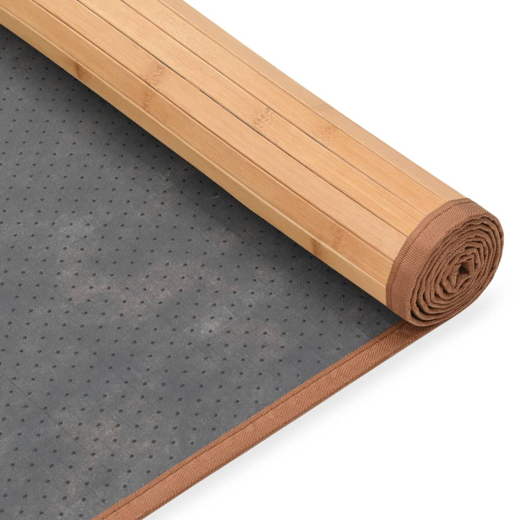 Covor din bambus, maro, 120 x 180 cm