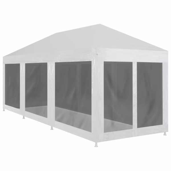 vidaXL Cort de petrecere cu 8 pereți din plasă, 9 x 3 m