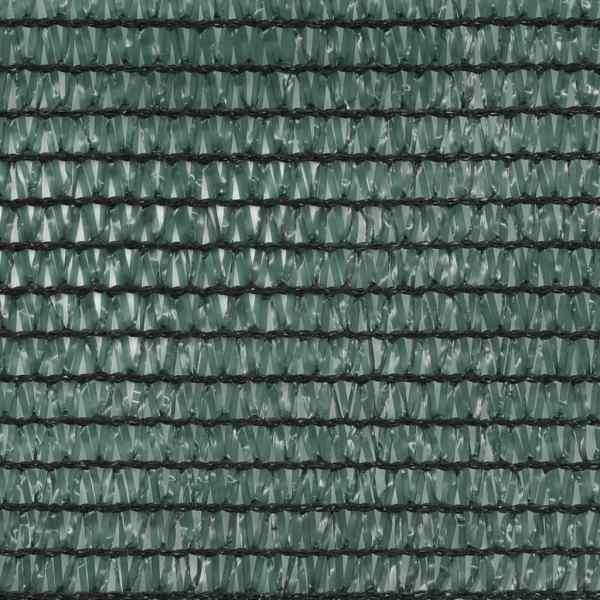 vidaXL Plasă teren de tenis, verde, 1,4 x 100 m, HDPE