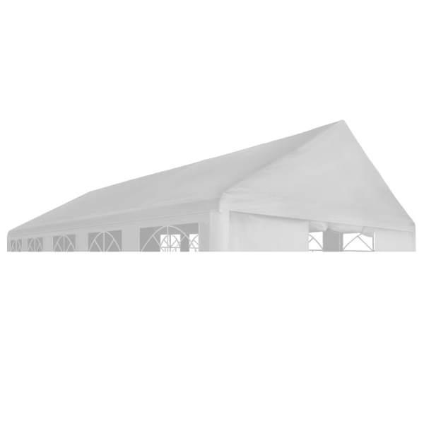 vidaXL Acoperiș de cort de petrecere, alb, 4 x 6 m