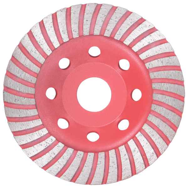 vidaXL Disc de polizare diamantat tip cupă, cu turbo, 115 mm