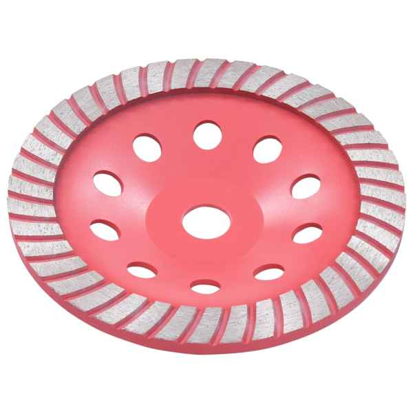 vidaXL Disc de polizare diamantat tip cupă, cu turbo, 180 mm