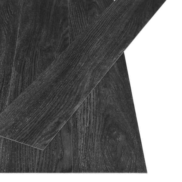 vidaXL Plăci autoadezive pardoseală stejar antracit PVC 4,46 m² 3 mm
