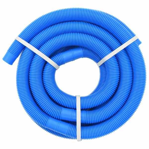 vidaXL Furtun de piscină, albastru, 32 mm, 6,6 m