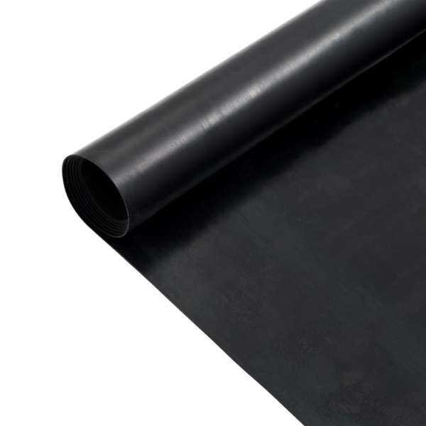 vidaXL Covor de cauciuc anti-alunecare, 1,2 x 5 m, 1 mm, neted