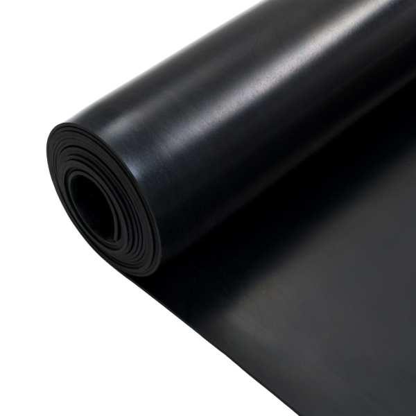 vidaXL Covor de cauciuc anti-alunecare, 1,2 x 5 m, 3 mm, neted