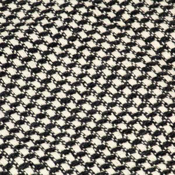vidaXL Pătură decorativă, antracit, 220 x 250 cm, bumbac