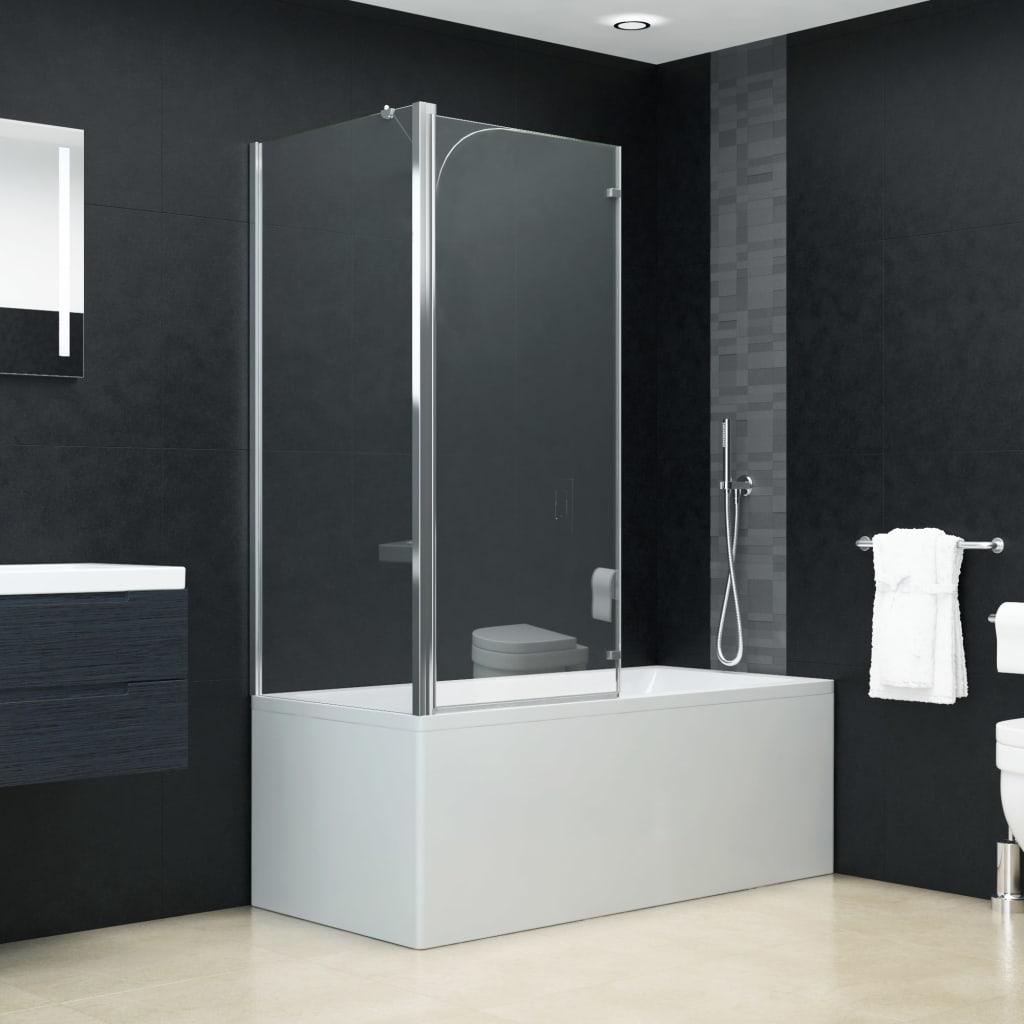 Cabină de duș dublu-pliabilă, 120 x 68 x 130 cm, ESG