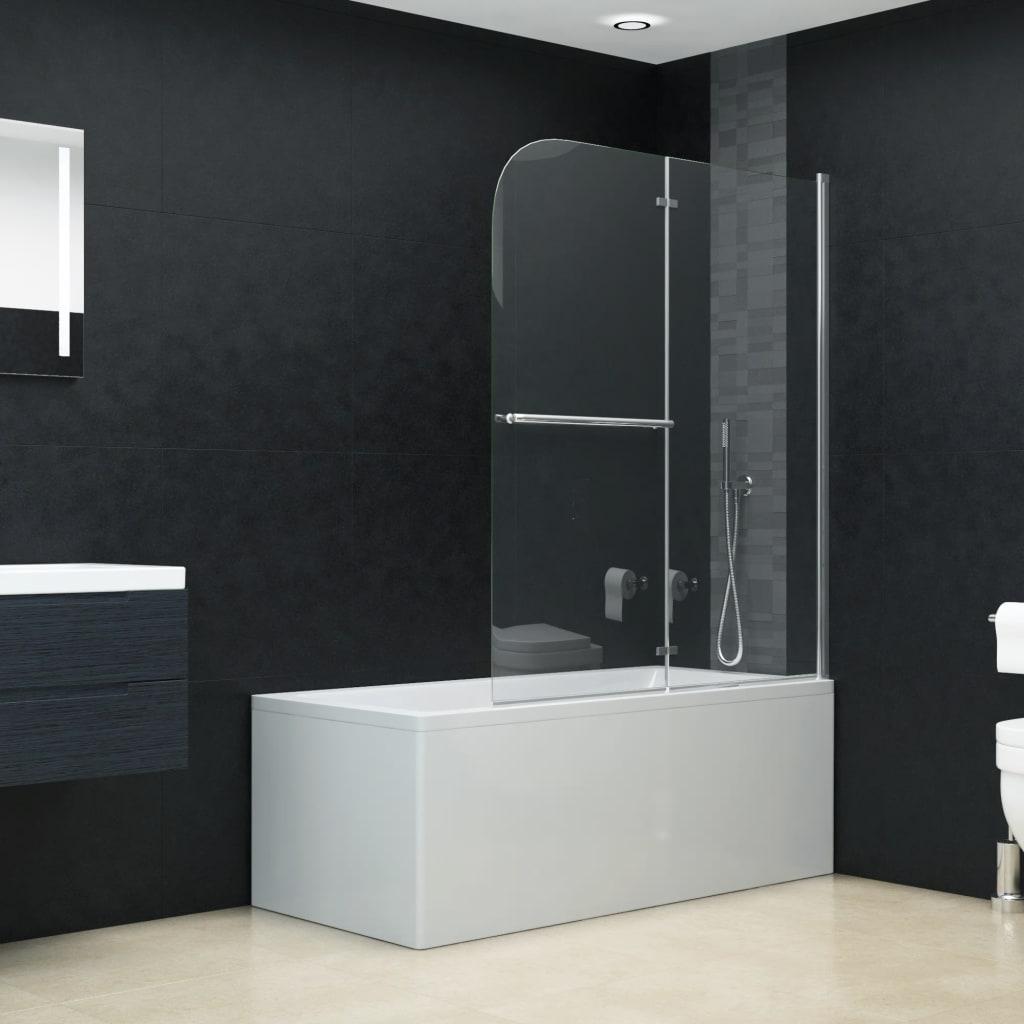 Cabină de duș pliabilă, 2 panouri, 120 x 140 cm, ESG
