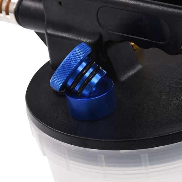 vidaXL Aparat pneumatic aerisire frâne cu sticlă de reumplere, 2 L