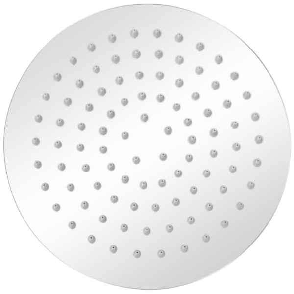 Cap de duș tip ploaie, 2 buc., Ø 20 cm, oțel inoxidabil
